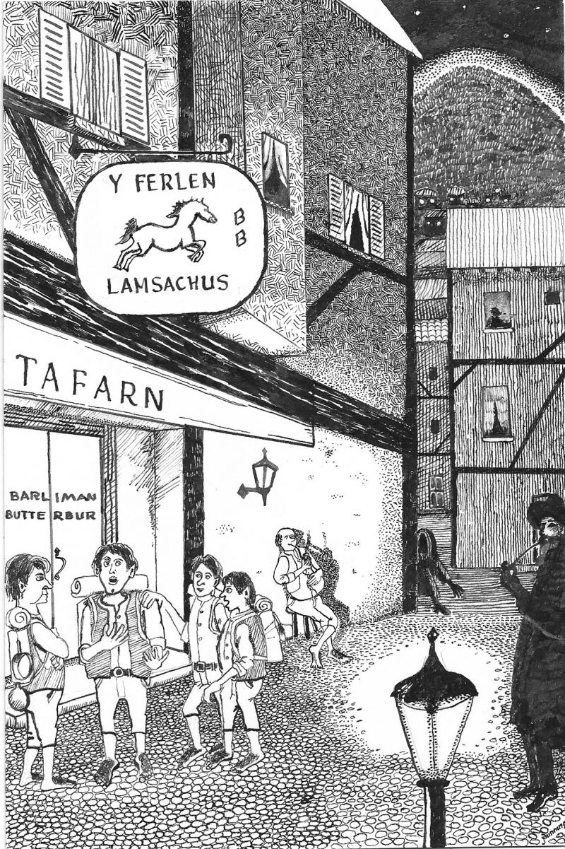 The Linguistic Landscape of Bree - Drawing from M. Hooker's Tolkien and Welsh